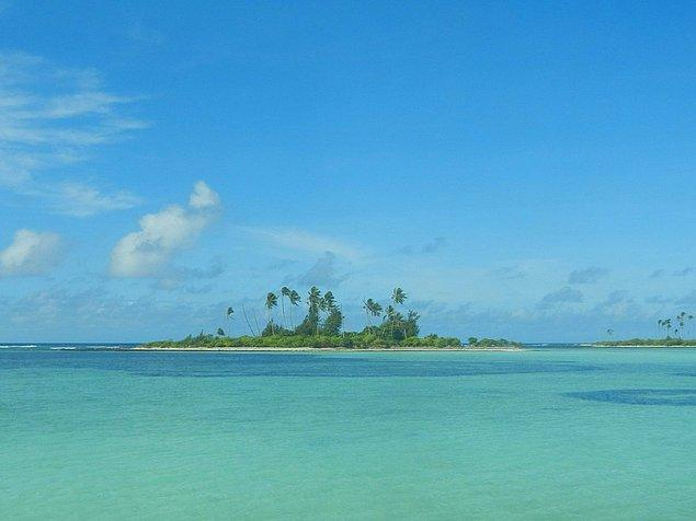 Gunnar Kiribati'ye gitmeyi de ihmal etmemiş.