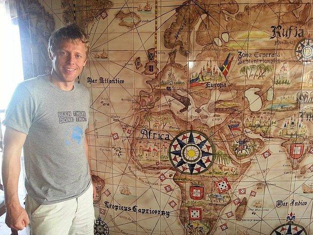 Gunnar'ın seyahatleri Yeşil Burun Adaları'nda son bulmuş.