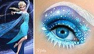 Göz Makyajının Sanata Dönüştürüldüğü Takdire Şayan 25 Çalışma