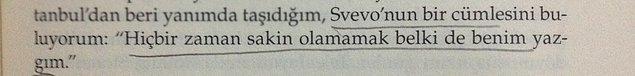 9. Svevo, sevdiği bir diğer yazar.