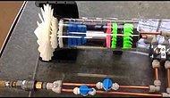 3D Yazıcı İle Yapılmış Jet Motoru