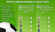 Süper Lig Yeni Kurala 'Yabancı' Kaldı