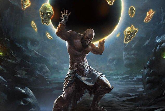 11. Böylece Atlas, yükünü taşımaktan kurtulamaz ve sonsuza kadar gök kubbeyi taşımaya devam eder.