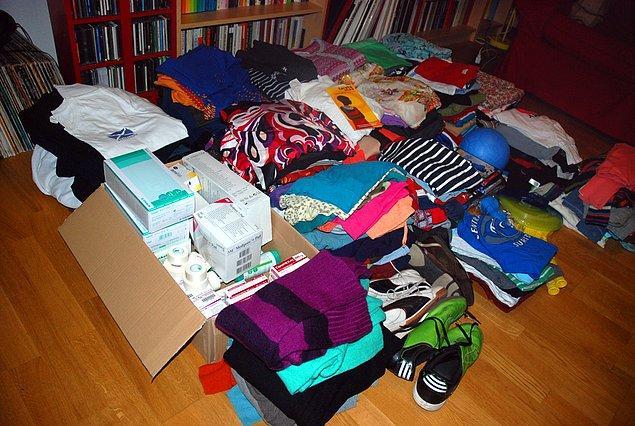 Kullanmadığınız eşyalardan kurtulun, satın ya da onları ihtiyaç sahiplerine bağışlayın.