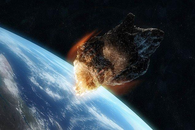 12. 9 Aralık 1994'te '1994 XM1' kod adı verilen bir asteroid, Dünya'ya en fazla yaklaşan asteroid unvanını almıştı.