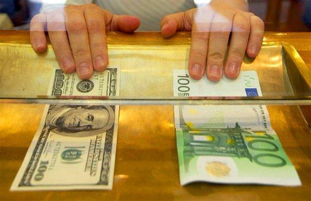 6. Euro Rekorda, Dolar Yine Ateşlendi