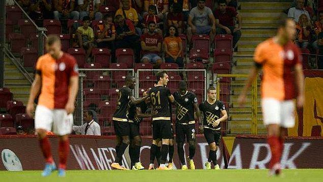 Osmanlıspor Galatasaray'a geçit vermedi