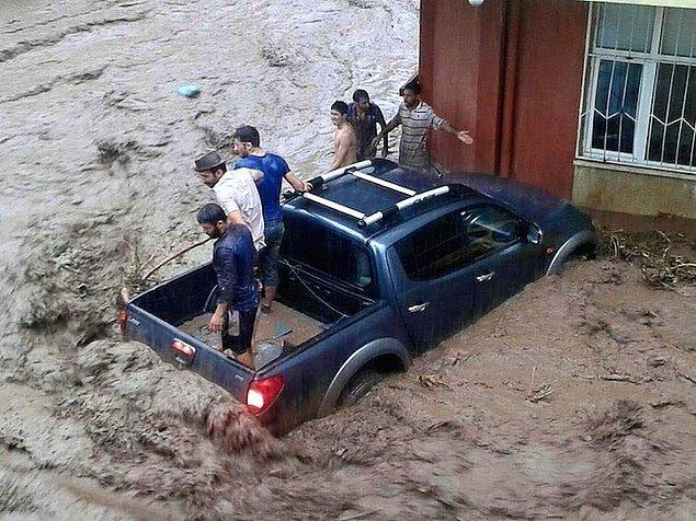 2. Artvin'de Sel Felaketi: Can Kaybı 8'e Yükseldi
