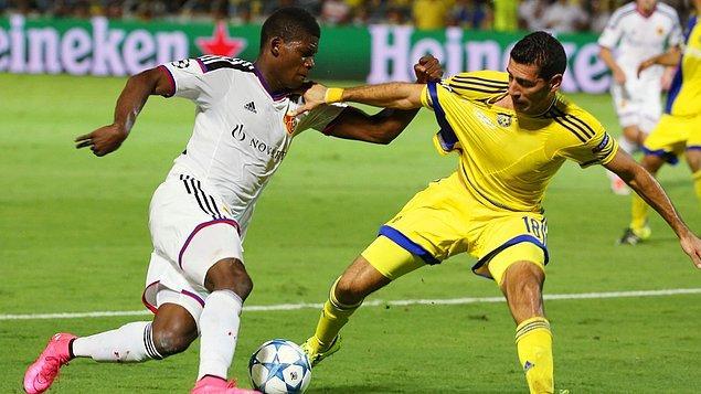 Maccabi Tel Aviv 1 - 1 Basel