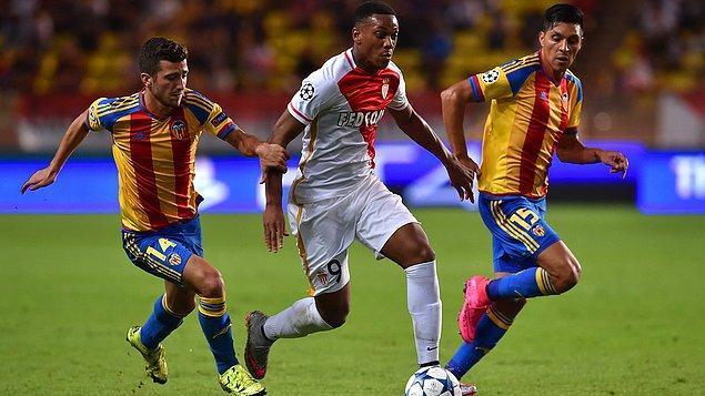 Monaco 2 - 1 Valencia