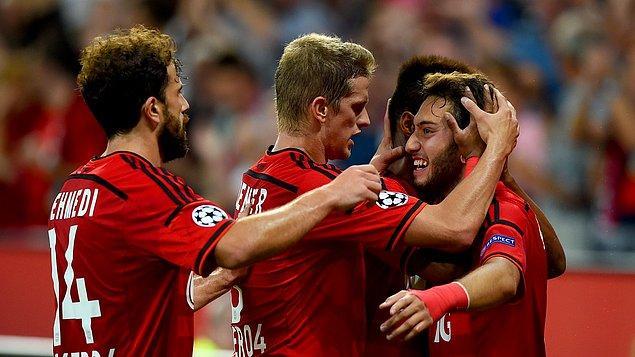 Leverkusen 3-0 Lazio