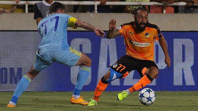 APOEL 1-1 Astana