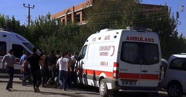 9- Cizre'de Çatışma: Biri Çocuk, Üç Sivil Hayatını Kaybetti
