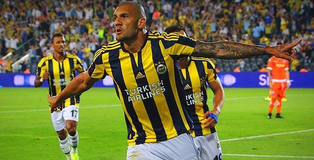 BİLGİ   Jose Fernandao, Fenerbahçe formasıyla 6 resmi maçta 2 gol attı