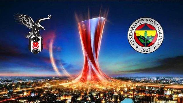 10. Beşiktaş ve Fenerbahçe'nin Grupları Belli Oldu