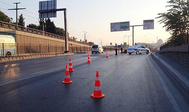 Bazı yollar trafiğe kapatıldı