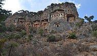 Muğla'daki 'Kral Mezarları' Yok Olma Tehlikesiyle Karşı Karşıya