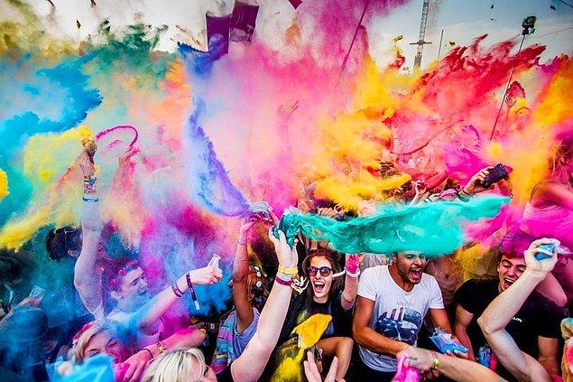 Zevkler, renkler ve RENGARENKler!