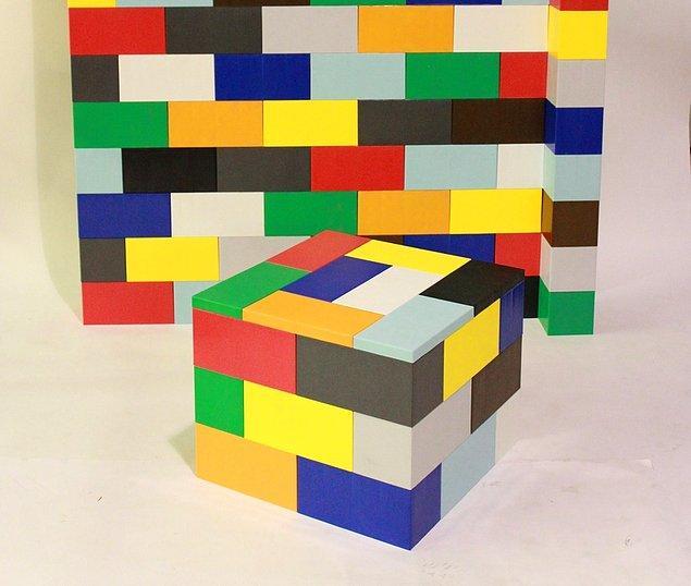 Bu bloklar sayesinde, çocukken tasarladığınız projelerinizin doğal boyutlardaki versiyonlarını hayata geçirebilirsiniz.