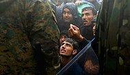 Makedon Polisinden Mültecilere Dayak