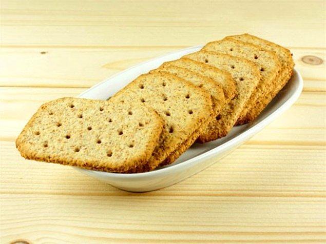14. Diyet bisküviler süper ya, yiyorum fit kalıyorum, çok faydalı.