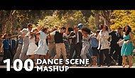 100 Filmin Dans Sahnelerinin Birleşimiyle Ortaya Çıkan Alternatif 'Uptown Funk' Klibi