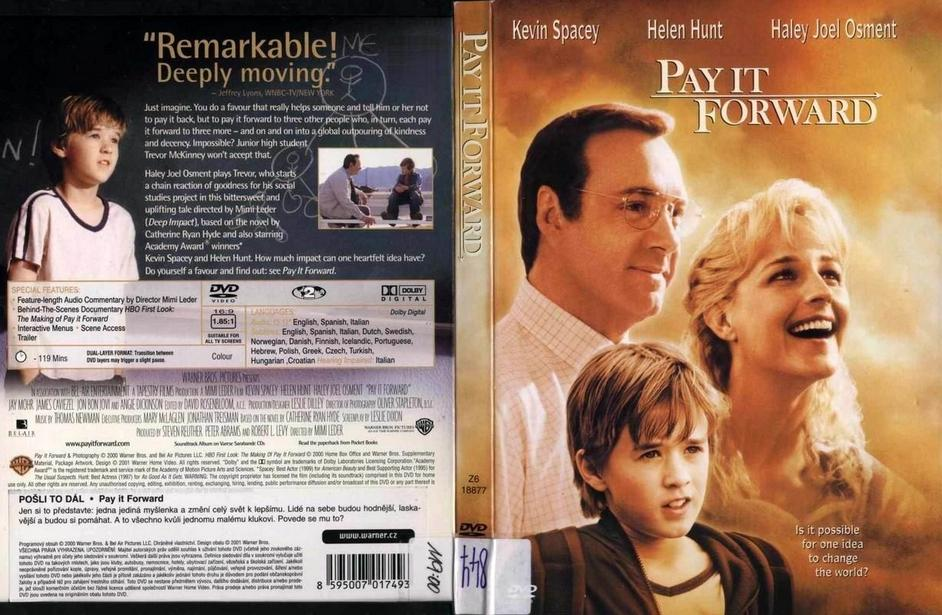 movie review about pay it forward