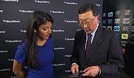 BlackBerry CEO'sunun Android'li BlackBerry ile İmtihanı
