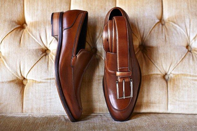 9. Deri ayakkabı giyiyorsanız, kemerinizin aynı renkte olmasına dikkat edin.