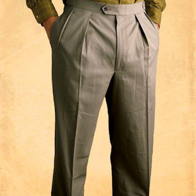 16. Pileli pantolon mu? Nesiniz siz 65 yaşında falan mı?
