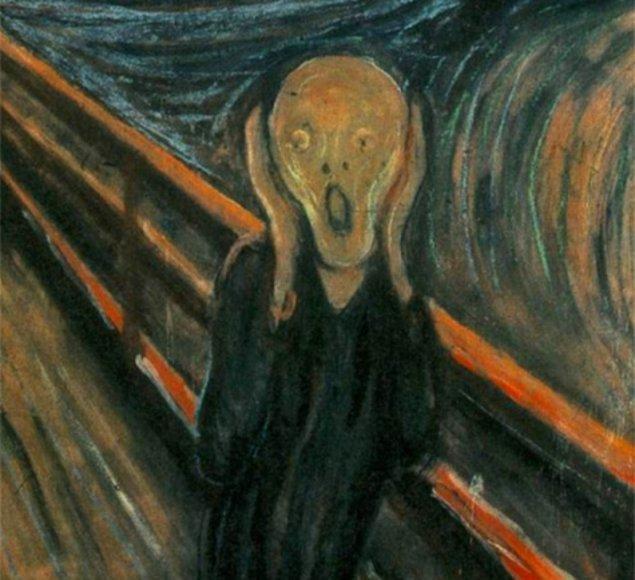 17. Burak Yılmaz - The Scream (Edvard Munch)