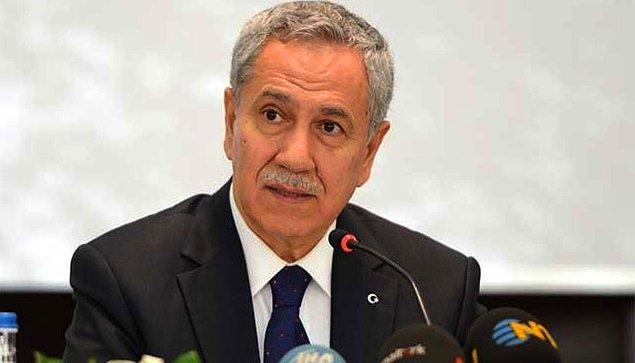 AKP Başbakan Eski Yardımcısı Bülent Arınç: 'Bu kötü rüyadan bir an önce uyanmamız dileğiyle'