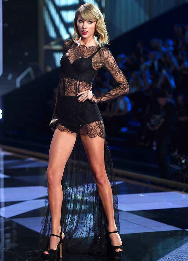 11. En seksi bacaklar: Taylor Swift