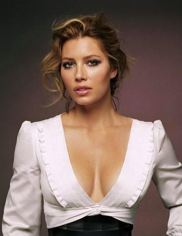 12. En seksi dudaklar: Jessica Biel