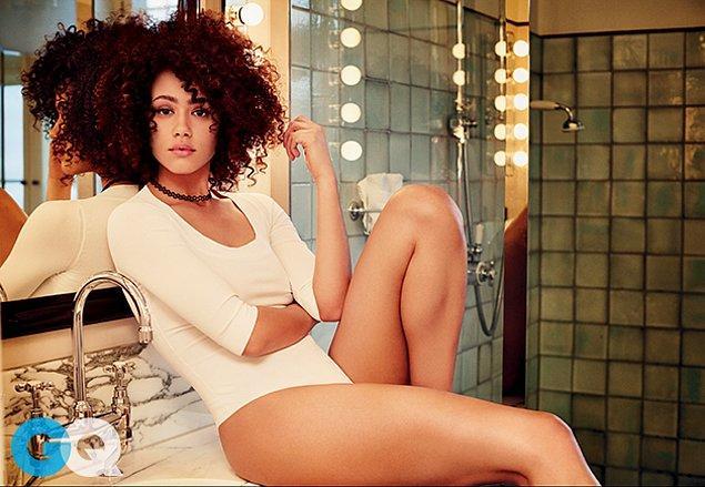 4. Yıldızı parlayan en seksi oyuncu: Nathalie Emmanuel
