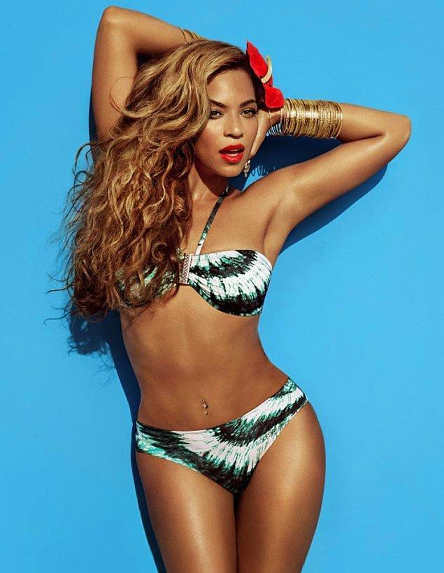 8. En seksi bikini vücudu: Beyoncé