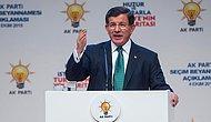 """Davutoğlu Seçim Bildirgesini Açıkladı: """"Yeni Anayasa ve Başkanlık Sistemi"""""""