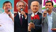 1 Kasım Genel Seçimleri Yaklaşırken Partilerin ve Liderlerinin En Çok RT'lenen 22 Tweeti