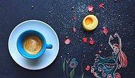 Kahve Fincanı Yardımıyla Yapılan 10 İllüstrasyon