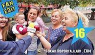 Sokak Röportajları: Reklamcı Olsaydınız Bir Elmayı Nasıl Pazarlardınız?  | Fan Edit