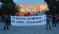 Atina'da Saldırı Protestosu: 'Erdoğan Hesap Vermeli'