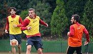 Podolski, Takımla Birlikte Çalışmalara Başladı