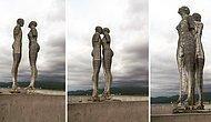 Trajik Bir Aşk Hikayesini Sembolize Eden Ali ve Nino Kinetik Heykeli