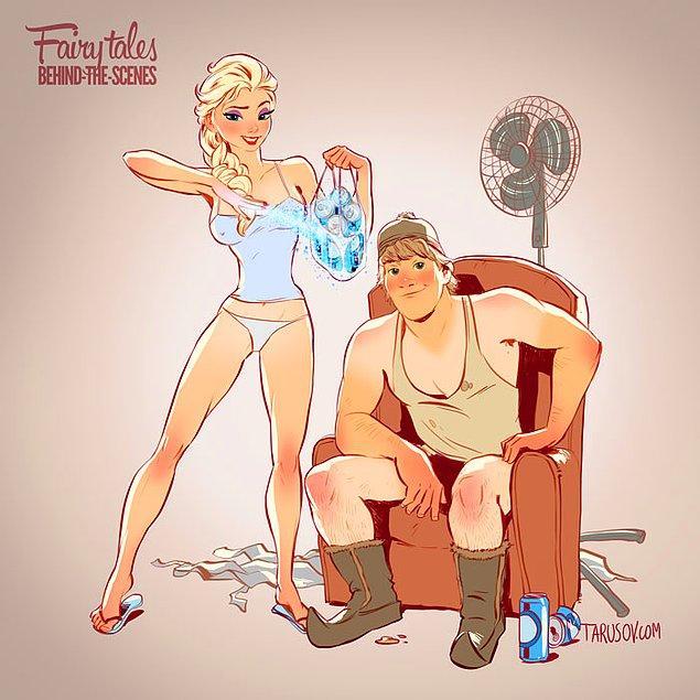 5. Elsa ve Kristoff