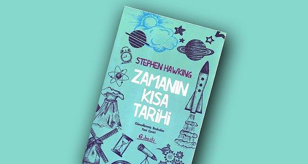 """22. """"Zamanın Kısa Tarihi"""", (1988) Stephen Hawking"""