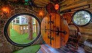 Yüzüklerin Efendisi'nden Esinlenerek Tasarlanan Otel, Müşterilerini Hobbit Ağaç Evinde Ağırlıyor