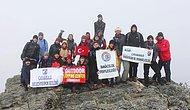 Kaz Dağları Cumhuriyet Bayramı Zirve Tırmanışı Gerçekleşti
