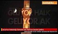 AK Parti'nin yeni seçim şarkısı Zeo Jaweed'ten