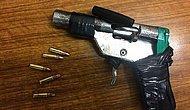 Rus ve Güney Amerikalı Polislerin Hapishane Aramalarında Ele Geçirdikleri 20 El Yapımı Silah