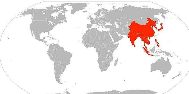 2. Üstteki haritaya baktıysanız, bu örnek size daha anlamlı gelecektir. Zira haritamızda kırmızı renkle boyanmış alanlarda yaşayan insan sayısı, geri kalan gri alanlardan fazla.
